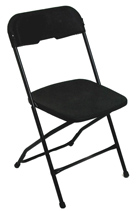 Black Metal Frame Chair